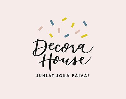 Visual Identity   Decora House
