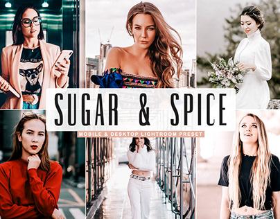 Free Sugar & Spice Mobile & Desktop Lightroom Preset