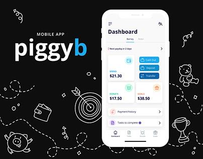 PiggyB Mobile App