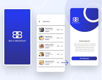 Breakfast Delivery App Design
