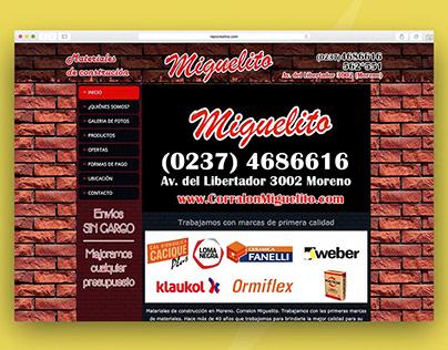 Corralon Miguelito | E-Commerce