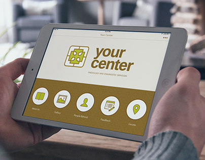 Your Center iPad App Screens