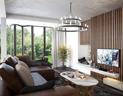 Living room design, Obrenovac