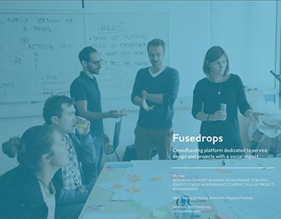 Fusedrops - Crowdfunding platform