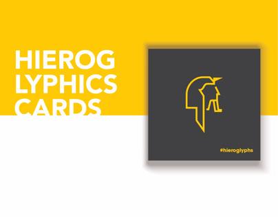 Hieroglyphic // cards