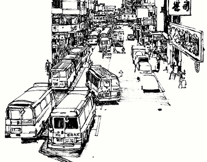 SKETCHES | CITIES #5