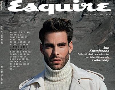 Esquire Czech Republic - Winter issue 2020/2021