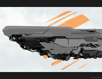 Nix Olympica - Spaceship concept
