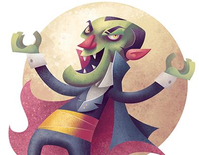 Count Vlad - made with Affinity Designer