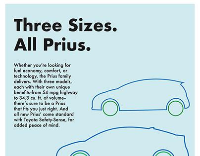 Toyota Prius Advertisements
