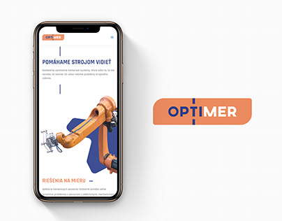 OPTIMER / web design
