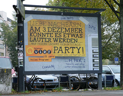 Bremen Vier Plakat