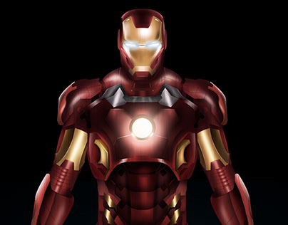 Iron Man - Ilustración digital