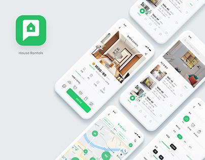 House Rentals App UI/UX