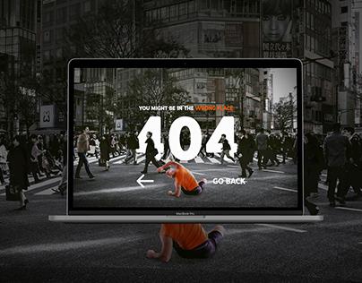 404 Page | Yoga Website