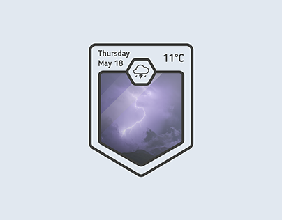 Another weather widget