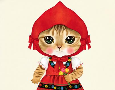Cat character 'Yomi'
