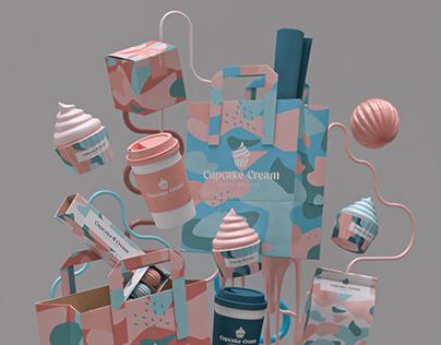 Cupcake Bar - Branding project
