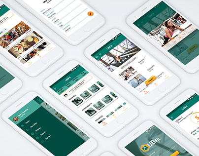 UX Research and Design for Fitness App- UBFit