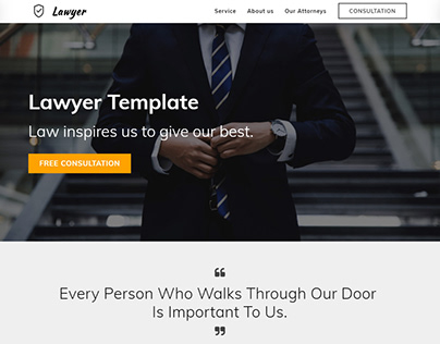 8b | Lawyer HTML5 Responsive Template!