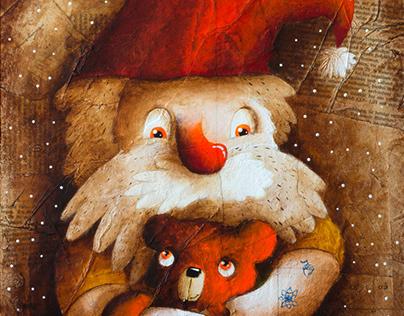 Dwarf and Bear