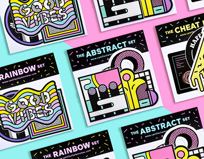 Illustration - Sticker Sets