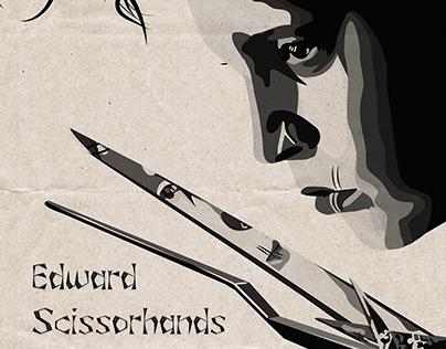 Edward Scissorhands Font Design