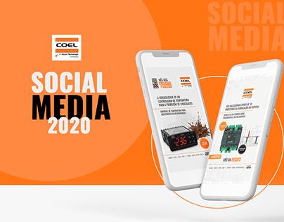 Social Media Coel 2020