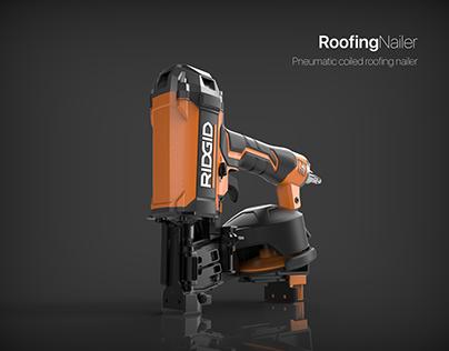 RIDGID Pneumatic Roofing Nailer