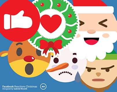 Facebook Reactions Christmas