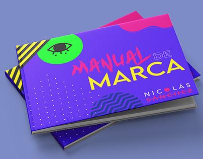 MANUAL DE MARCA - NICOLÁS SÁNCHEZ