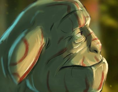 Week Drawing #1 - Creatures