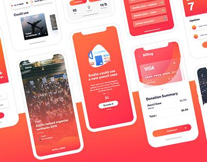 PLEDGEE - App Design