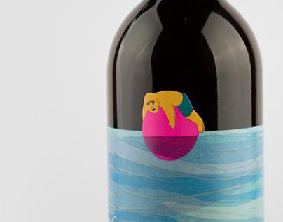 Bogyólé 2016 borcímke/wine label
