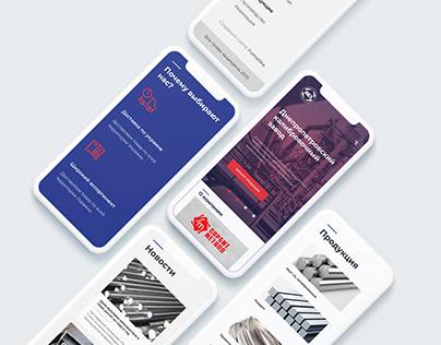 Website design DKZ