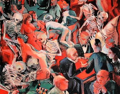 110x80 acrylic on canvas
