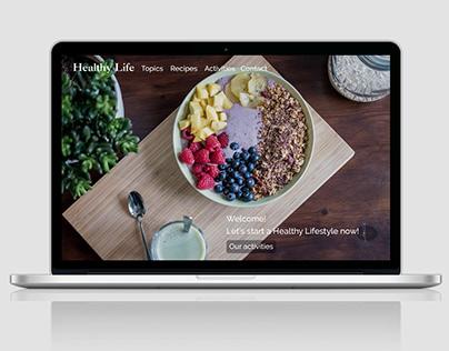 Healthy Life Web Design