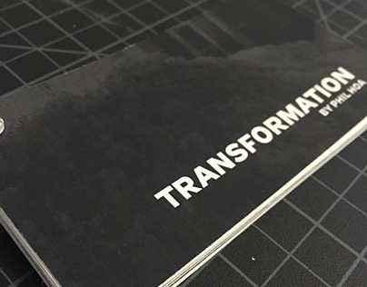Transformation Booklet (college project)