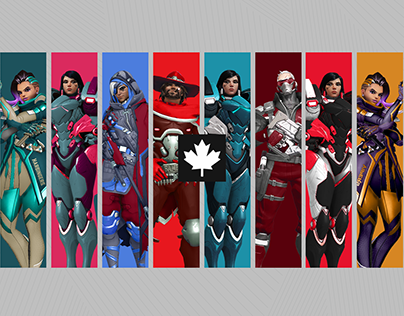 Overwatch League - Canada Concepts