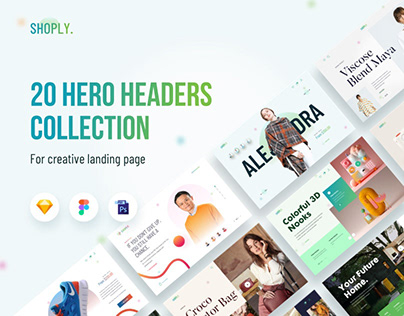 Shoply- 20 Headers Collection