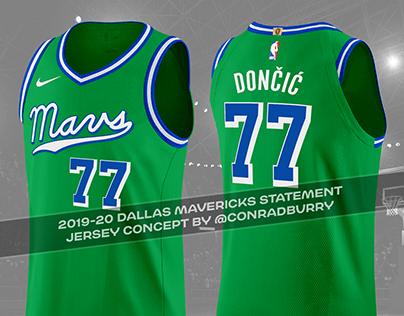 Dallas Mavericks Uniform Concepts