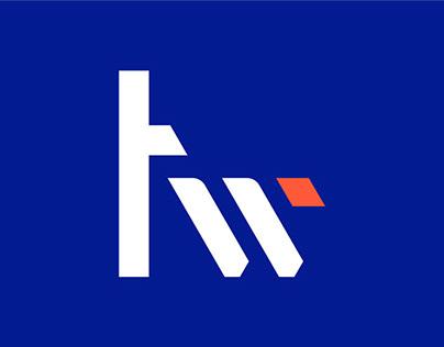 Techweek logo - unused concept