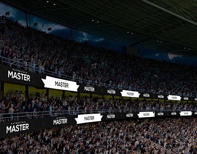 LEDs in Nilton Santos Stadium