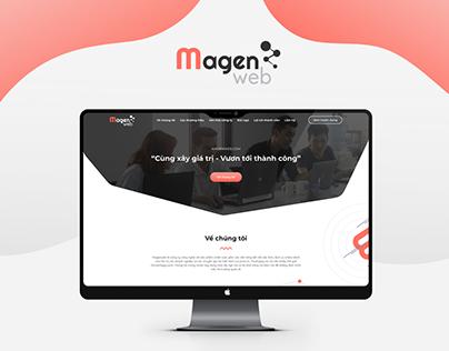 Landing Page Magenweb