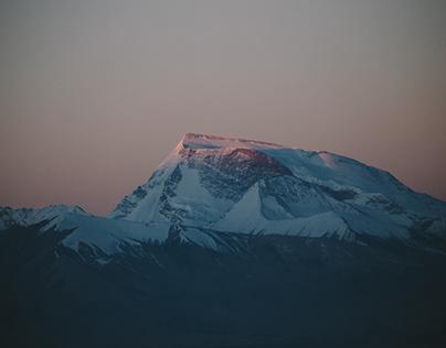 Namunani peak,Tibet 西藏·纳木那尼峰