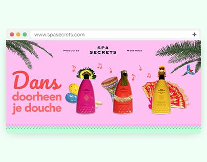 Spa Secrets - Promo Site