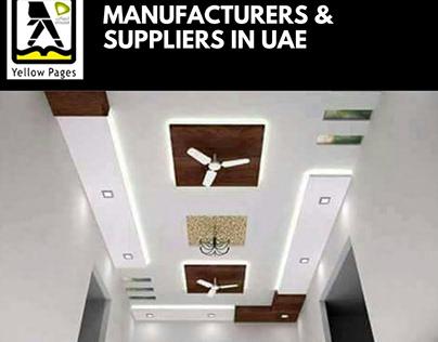 Ceilings in UAE | Ceilings Manufacturers & Suppliers
