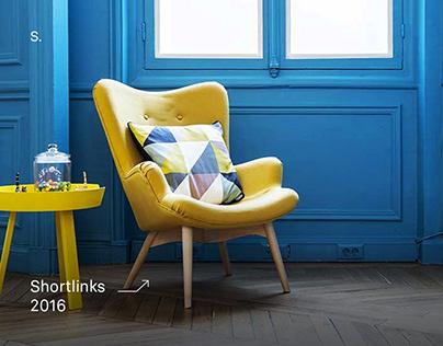Shortlinks - Agency website