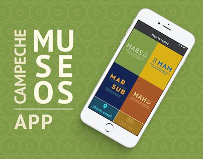Museos Campeche / App accesibilidad