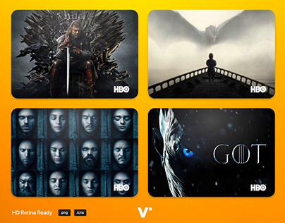 Game of Thrones TV Folder Icons